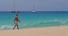 The tropical paradise of Cape Verde